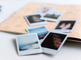 How to organize family photos.