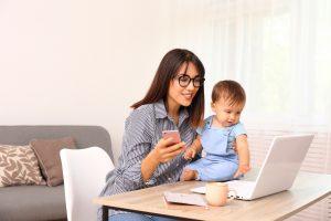 It's hard to balance a job and be a single mom.