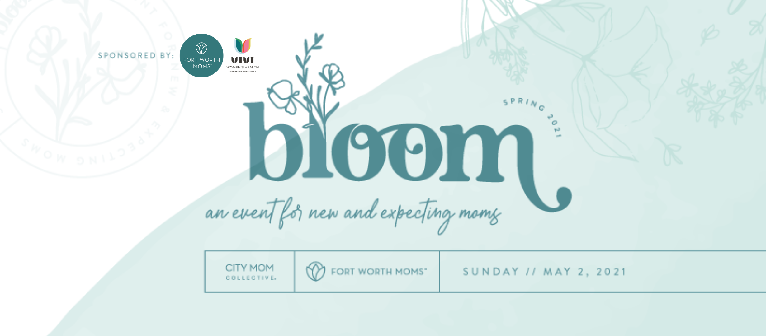 Pregnant and new moms to kiddos ages zero to two can attend Bloom 2021.