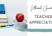 2021 Ultimate Guide to Teacher Appreciation