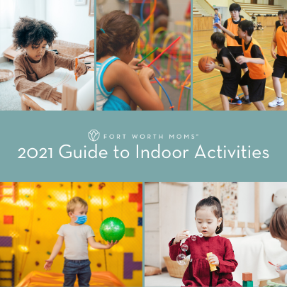 Find places to play indoors with the Guide to Indoor Activities.