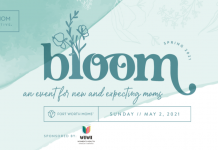 Bloom 2021 is a virtual event for pregnant and new moms.
