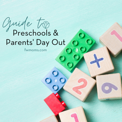 Parents can use FWM Guide to Preschools and Parents Day Out