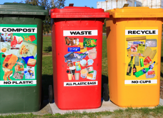 Recycle on Earth Day.