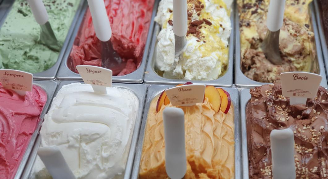 Ice cream pans