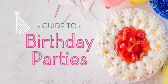 Plan your kid's birthday party using this guide.
