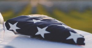 Americanflagfolded