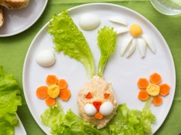 Kids can have fun and eat their veggies at Hardie's Fresh Foods.