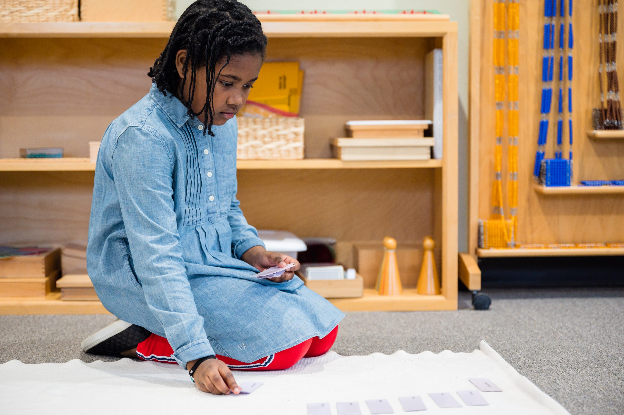 Montessori School of Fort Worth encourages students to learn through curiosity and independence.