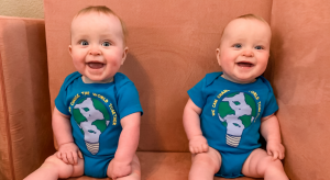 happy twins on a schedule