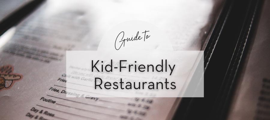 Go to kid-friendly restaurants in Tarrant County.
