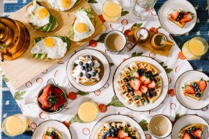 Instead of date night, go on a brunch date.