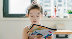 Reading allows kids to learn new things