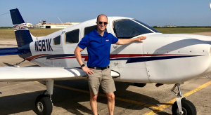 My husband became a pilot later in life.