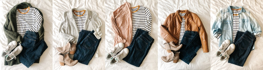 Putting together a uniform means mixing and matching clothes.