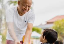 Grandparents offer great relationships to grandchildren.
